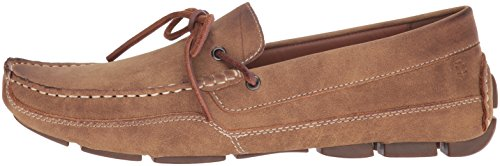 IZOD Men's Burton Slip-on Loafer, Tan PU Suede 220, 10.5 UK/10.5 M US