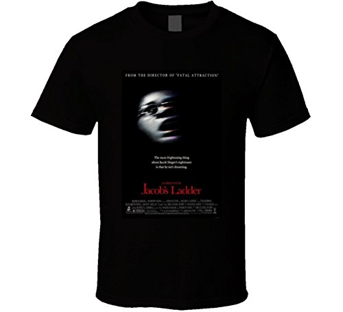 Jacob's Ladder Cool Vintage 90's Movie Poster Fan T Shirt XL Black