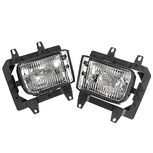 Oneuda Pair Left+Right Front Fog Light Transparent Plastic Lens Kit No Bulb for BMW E30 3-Series 1985-1993 Car Accessories Car Styling