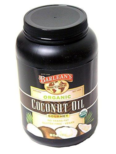 Barlean's Organic Gourmet Coconut Oil, 60 Fluid Ounce