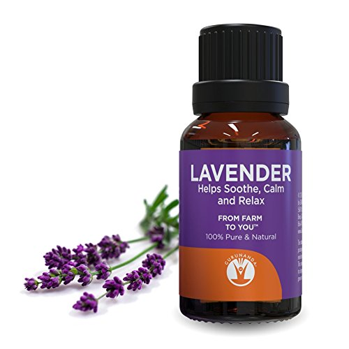 GuruNanda Lavender Essential Oil - Aromatherapy - GCMS Tested & Verified  100% Pure Essential Oils for Diffusers - Undiluted - Therapeutic Grade - 15