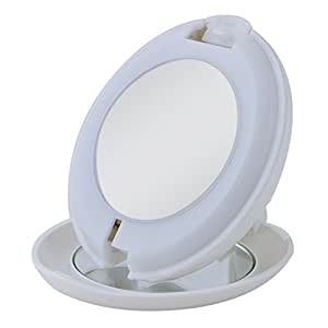 Amazon Com Zadro 10x 1x Led Lighted Compact Mirror With
