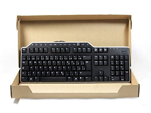 Genuine 1RW52 KB522 X20M8 7VHY1 Dell Business Multimedia USB Wired 104-Key 14-Hot Keys 2 USB Hub Keyboard Compatible Part Numbers: 1RW52, KB522, X20M8, 7VHY1