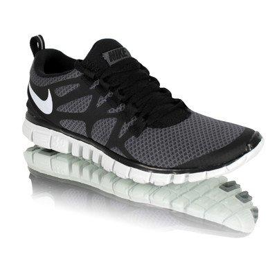 buy popular aad74 55313 Nike Free 3.0 V3 Light Weight Athletic Running Sneakers Dark Grey/White/ Black 454079