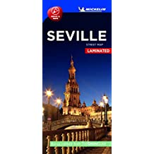 Michelin Seville City Map - Laminated