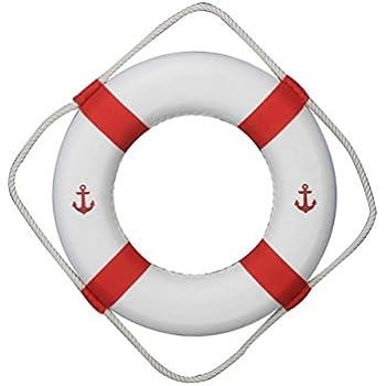 Amazon.com: Hampton Nautical EE. UU. decorativo Vida Anillo ...