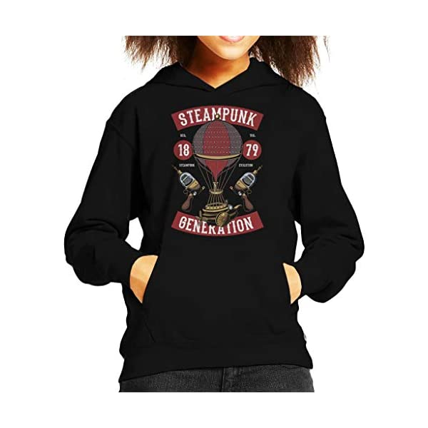 Coto7 Steampunk Generation Kid's Hooded Sweatshirt 3