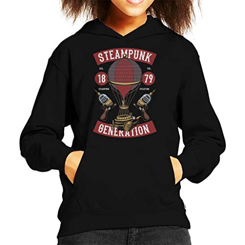 Coto7 Steampunk Generation Kid's Hooded Sweatshirt