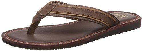 Red Tape Men's Leather Slippers: Buy