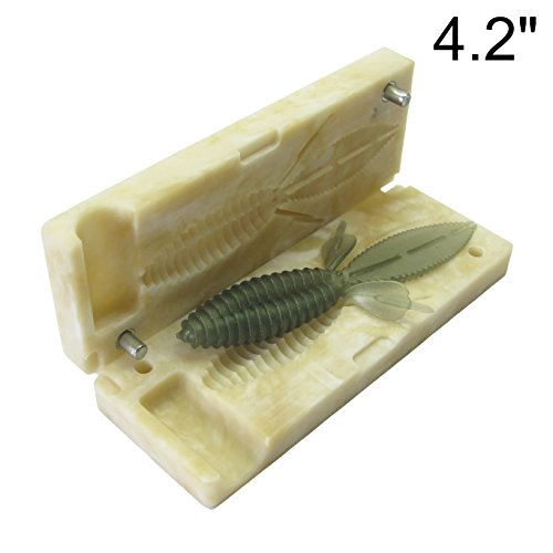 Beaver Reaction Innovations Sweet - best_nj Soft Plastiс Mold Lure Making Injection Molds Do-It Fishing Lures Reaction Innovation Beaver 4.2'' DIY