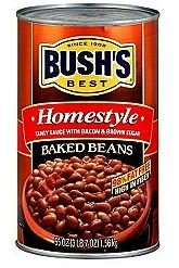 Bush\'s Best Homestyle Baked Beans, Tangy Sauce With Bacon & Brown Sugar, 55 oz (Pack of 3)