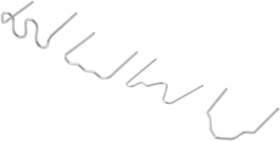 FATTERYU 400 Piezas de Grapas precortadas Grapas Calientes para el Kit de reparaci/ón de la Grapadora de pl/ástico Soldador 4 tama/ños