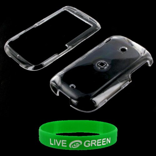 Clear Snap On Hard Case for HTC Ozone XV6175 Phone, Verizon Wireless