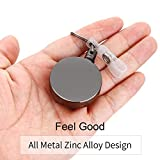 2 Pack Heavy Duty Retractable Badge Holder
