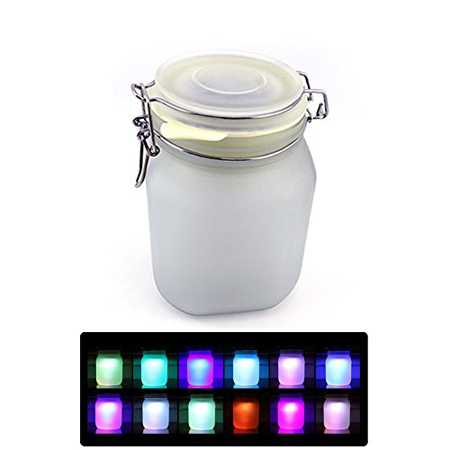 Sun Jar Solar Powered Night Light Lamp