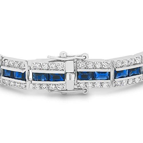 ISADY - Mérédith Bleu - Bracelet - Oxyde de zirconium bleu
