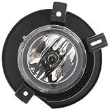 Evan-Fischer EVA12872023167 Fog Light Passenger Side RH Driving Lamp Plastic lens Clear DOT, SAE approved