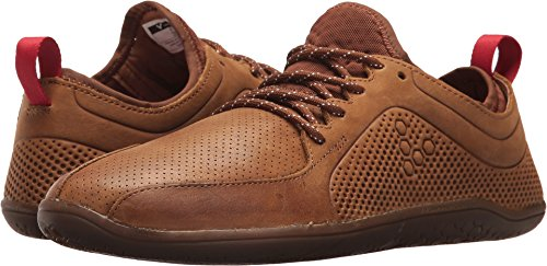 Vivobarefoot Women's Primus Lux WP Leather Trainer Shoe, Dark Brown, 40 D EU (9 US)
