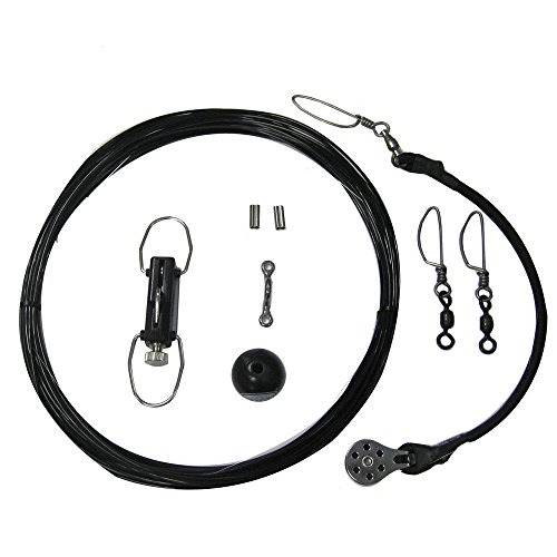 Rupp Center Rigging Kit w/Klickers - Black Mono 45'