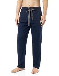 David Archy Men's Comfy Jersey Cotton Knit Pajama Lounge Sleep Pant