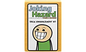 Deck Enhancement #1 - The first expansion of Joking Hazard Comic Building Card - Party Game by Cyanide and Happiness for 3-10 players