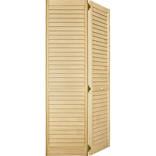 Closet Door, Bi-fold, Louver Louver Plantation (36x80)