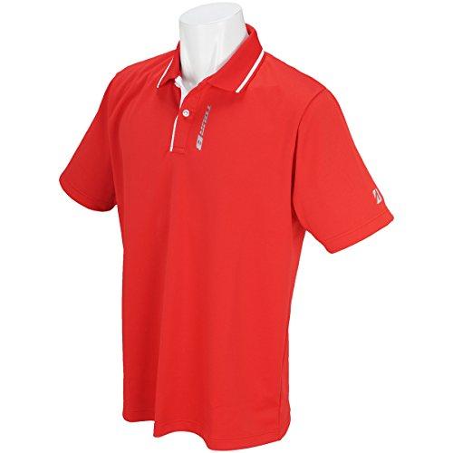 ブリヂストン TOUR B 半袖シャツ?ポロシャツ 半袖ポロシャツ ホワイト M