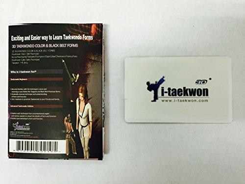 USB - 3D Taekwondo (2 in 1) Kukkiwon All Color and Black Belt Form