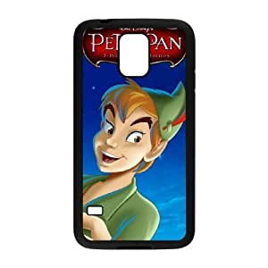 Samsung Galaxy S5 Black phone case Disney Cartoon Characters Peter Pan DMU7773486