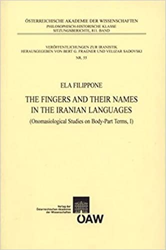 Free downloadable audio books for ipod The Fingers and Their Names in the Iranian Languages: Onomasiological Studies on Body-part Terms, I (Veroffentlichungen Zur Iranistik) i nGaeilge 3700166575