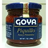 Goya Piquillo Fancy Pimientos Imported from Spain 6.7 Ounce Jar