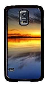 luxury Samsung S5 covers Sunset 05 PC Black Custom Samsung Galaxy S5 Case Cover