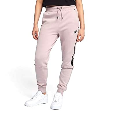 Amazon.com  Nike Women s NSW Tech Fleece Pant OG Rose Pink 683800 ... 9445b78d4