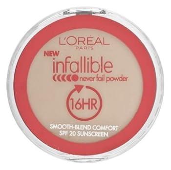 L'Oreal Paris Infallible Never Fail Powder, Natural Beige, 0.30 Ounce