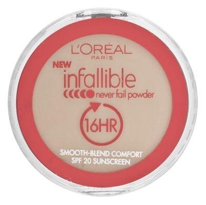 L'Oréal Paris Infaillible ne manquent jamais de poudre, Beige Naturel, 0,30 once