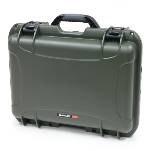 Nanuk 925 Waterproof Hard Case with Padded Dividers - Olive