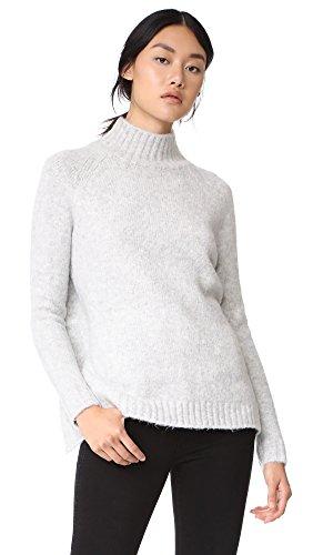 [BLANKNYC] Blank Denim Women's Unmellow Sweater, Light Grey, Medium
