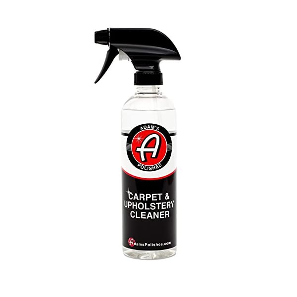Adam's Carpet & Upholstery Cleaner   Easy To Use And Effective On Even The Worst Stains   Safe, Non Toxic And Hypoallergenic (16 Oz)