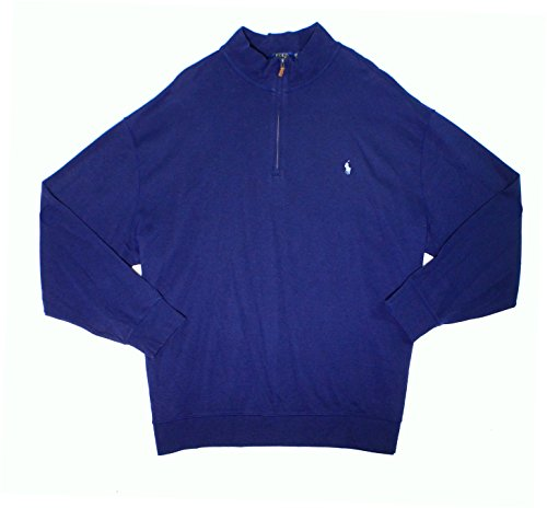 Men's Polo Ralph Lauren Half Zip Long Sleeve Sweater - Lauren Online Ralph Outlet
