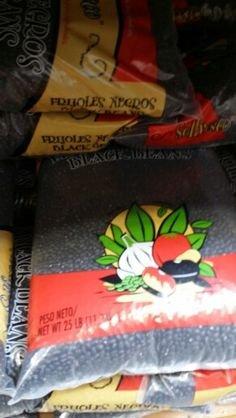 Solfresco Black Beans 25 Lb by Solfresco