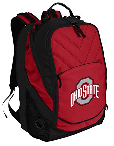 Broad Bay OSU Buckeyes Backpack Red Ohio State University Laptop Computer Bags