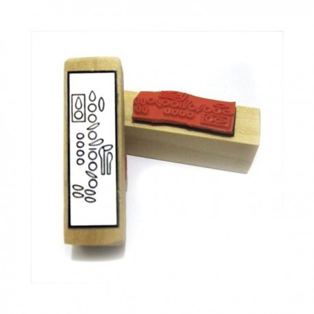 Clarinet Fingering Rubber Stamp. Great for teachers and students!