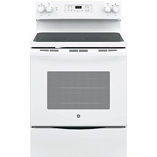 GE JB645DKWW 30″ White Electric Smoothtop Range