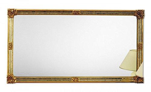 Wander espejo de pared rectangular Design oro