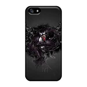 BBz3661njEd Tpu Cases Skin Protector For Iphone 5/5s Venom With Nice Appearance