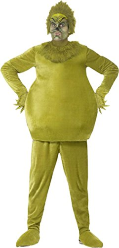 The Grinch Costume Green Chest 42