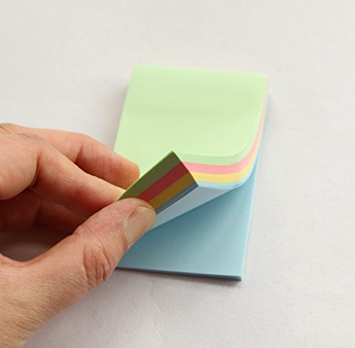 GANSSIA Assorted Colors Sticky Sheets