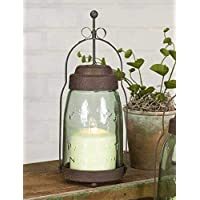 CTW Home Collection Quart Mason Jar Butler Lantern Home Accessories