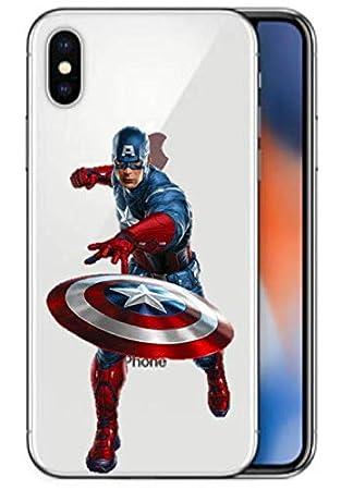 Art Design Funda iPhone XR Captain America Super Hero Marvel ...