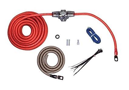 Rockford Fosgate RFK4 4 AWG Power Only Amplifier Install Kit